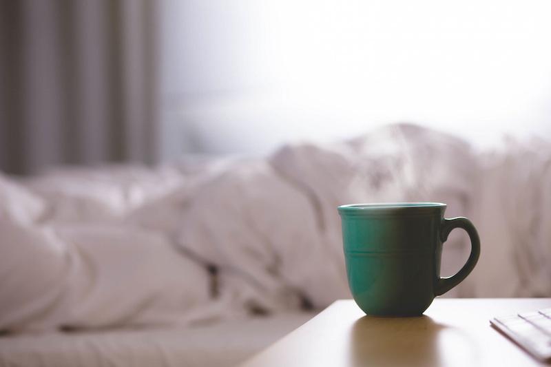 cafe et lit