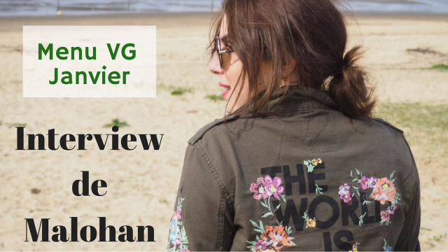 Le carnet d'Anne-So - Menu VG Janvier - Interview Malohan