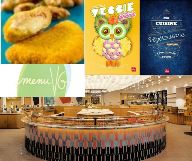 Le carnet danne-so menu VG  -actus vegan
